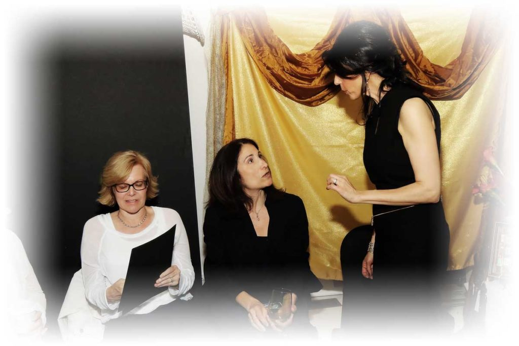 maria with clients