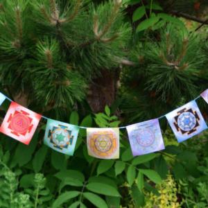 yantra prayer flags